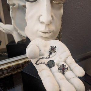Jewelry - FREE w any Purchase! Earrings w a cuff